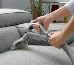 Stoffen meubels aan huis reinigen