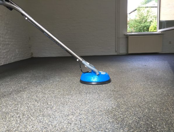 grindvloer reinigen